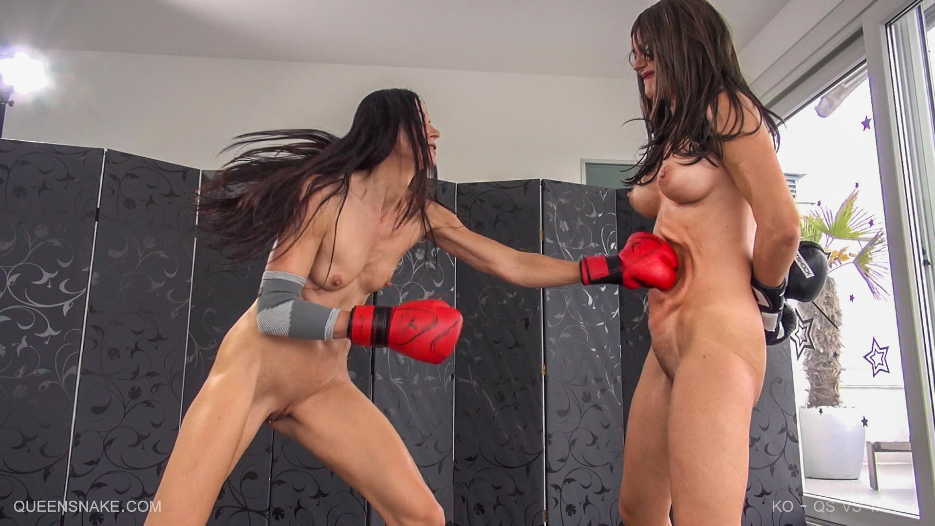 Pussy punching knockouts