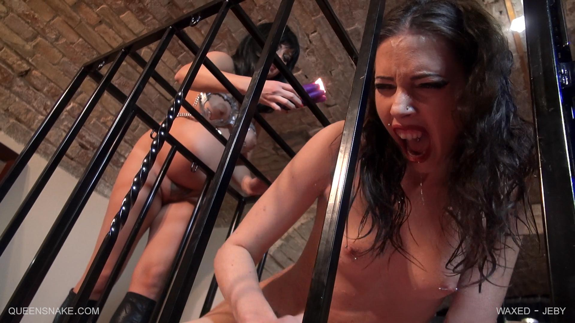image Caged waxed whipped 1